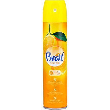 BRAIT Õhuvärskendaja Lemon 3in1, 300 ml