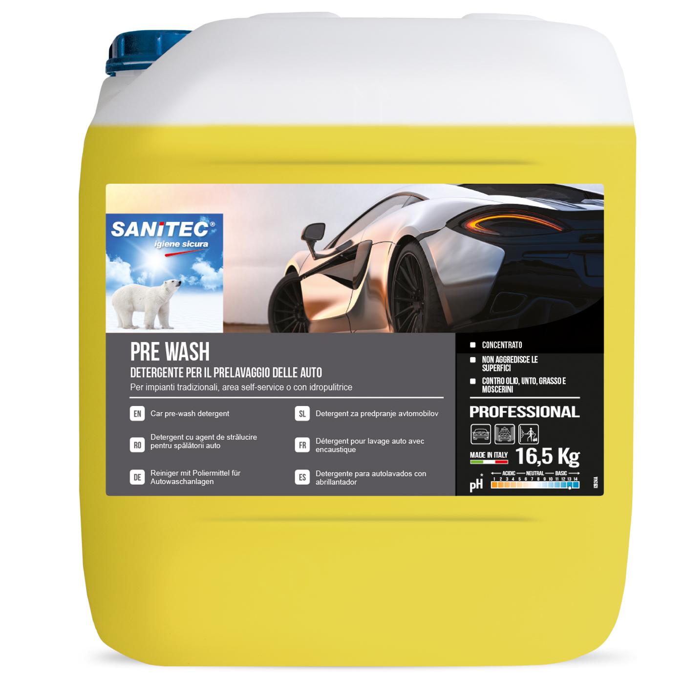 Sanitec Pre-Wash, autode pesuaine, 16,5kg , LÕPUMÜÜK