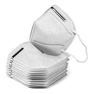Respiraator, valge, FFP2 / N95, pakis: 10 tk.