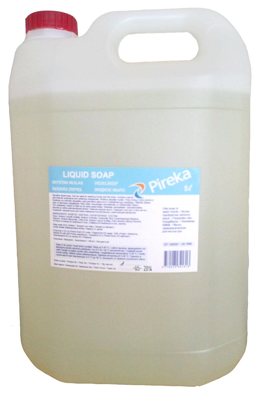 Sensitive Pireka vedelseep 5L, 2tk pakis