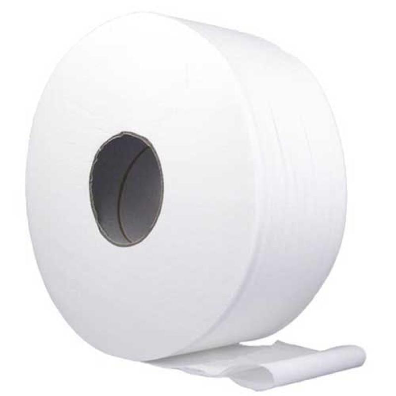 Asko  WC paber Mini Jumbo rullis, 12x170m, 2-kihiline loodusvalge