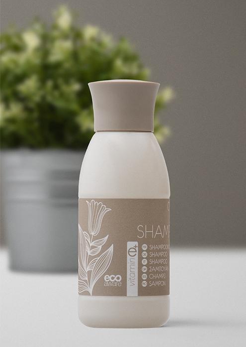 CAHM Omnia šampoon 40 ml, kastis 168 tk