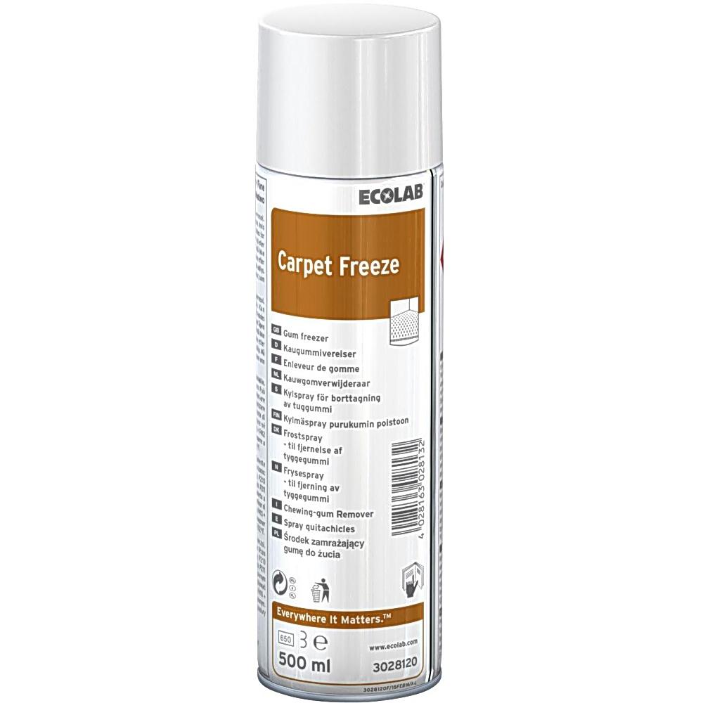 Ecolab Carpet Freeze 500ml, nätsueemaldi, aerosool, kastis 6 tk