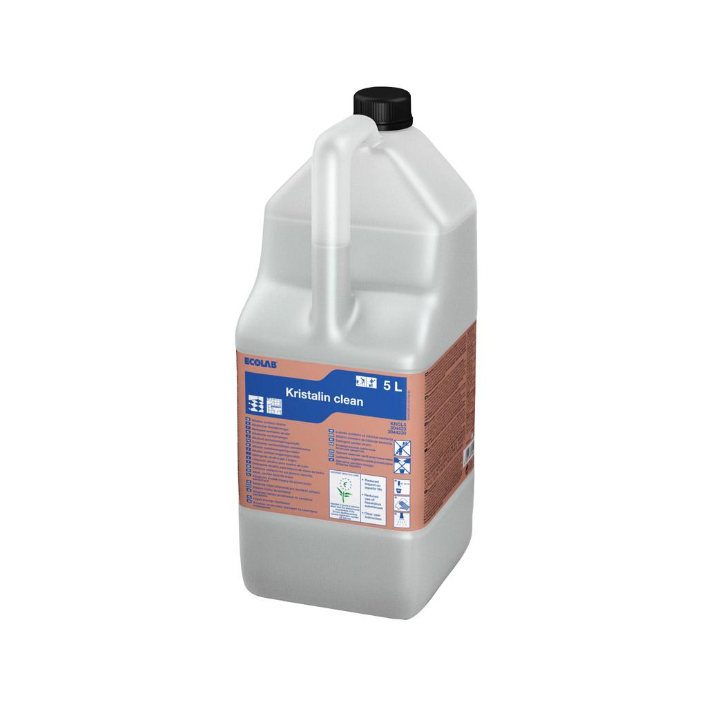 Ecolab Kristalin Clean 5L, alus. san. ruumide puhastusaine, kastis 2 tk, LÕPUMÜÜK