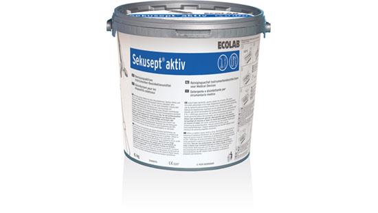 Ecolab Sekusept Aktive Instrumentide desinfektsioonivahend 1,5 Kg , kastis 4 tk