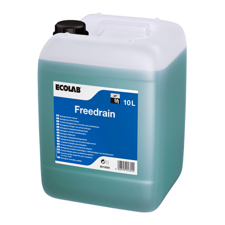 Ecolab Freedrain 10L, bioloogiline torupuhastusaine