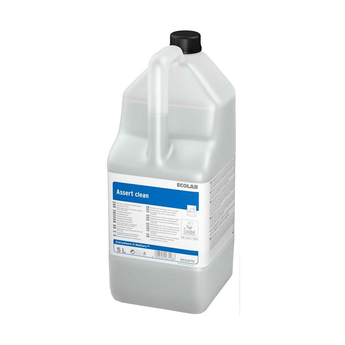 Ecolab Assert Clean 5L, käsinõudepesuaine, kastis 2 tk