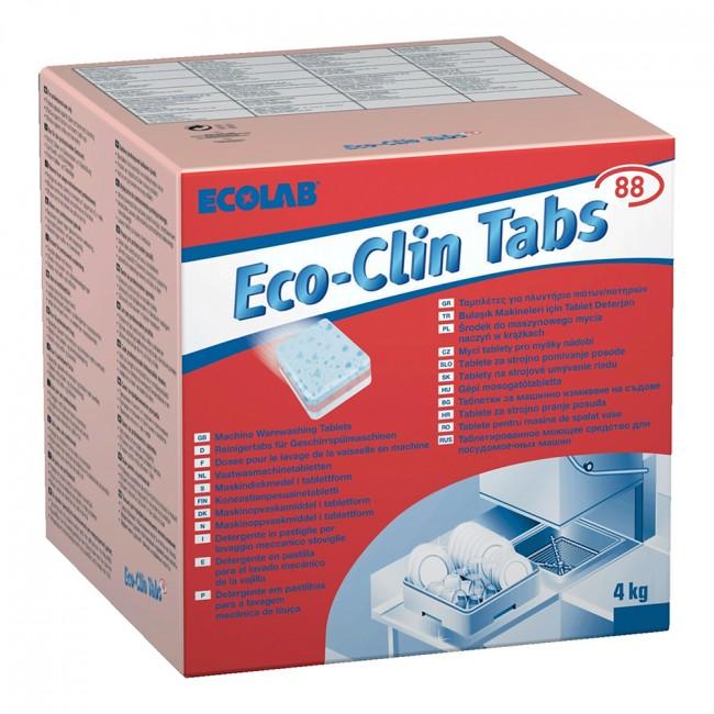 Ecolab Eco-Clin Tabs 200tk (4kg)nõudepesumasina tabletid.
