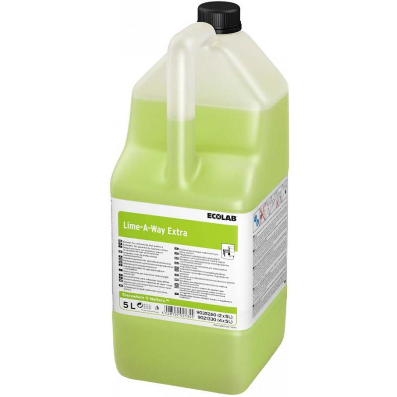Ecolab Lime-A-Way Extra 5L, köögi masinate katlakivieemaldaja, kastis 2 tk