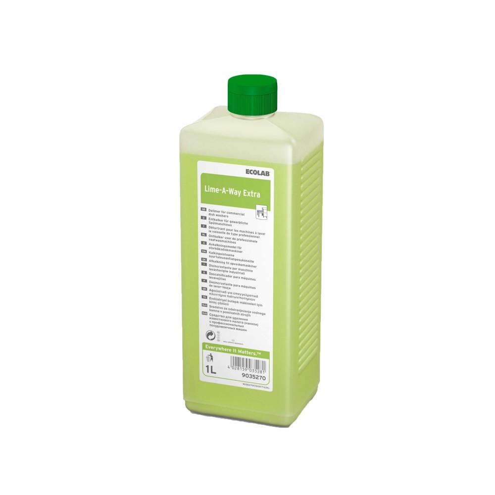 Ecolab Lime-A-Way Extra 1L, köögi masinate katlakivieemaldaja, kastis 4 tk
