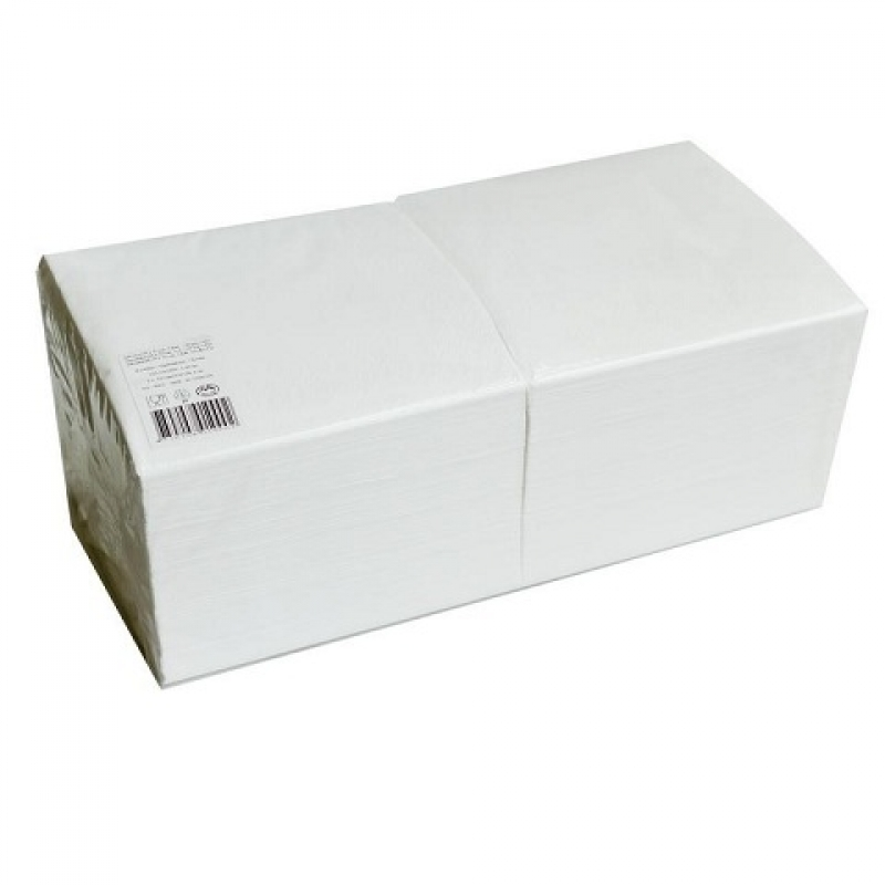 Gruine salvrätikud 24 x 24 valge, 1*, pakis 400 tk, kastis 18 pk, LÕPUMÜÜK