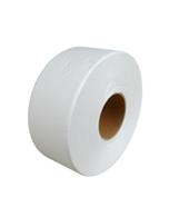 Gruine WC paber Mini Jumbo rull, 12x150m, 2-kihiline, valge, Gruine, mustriga