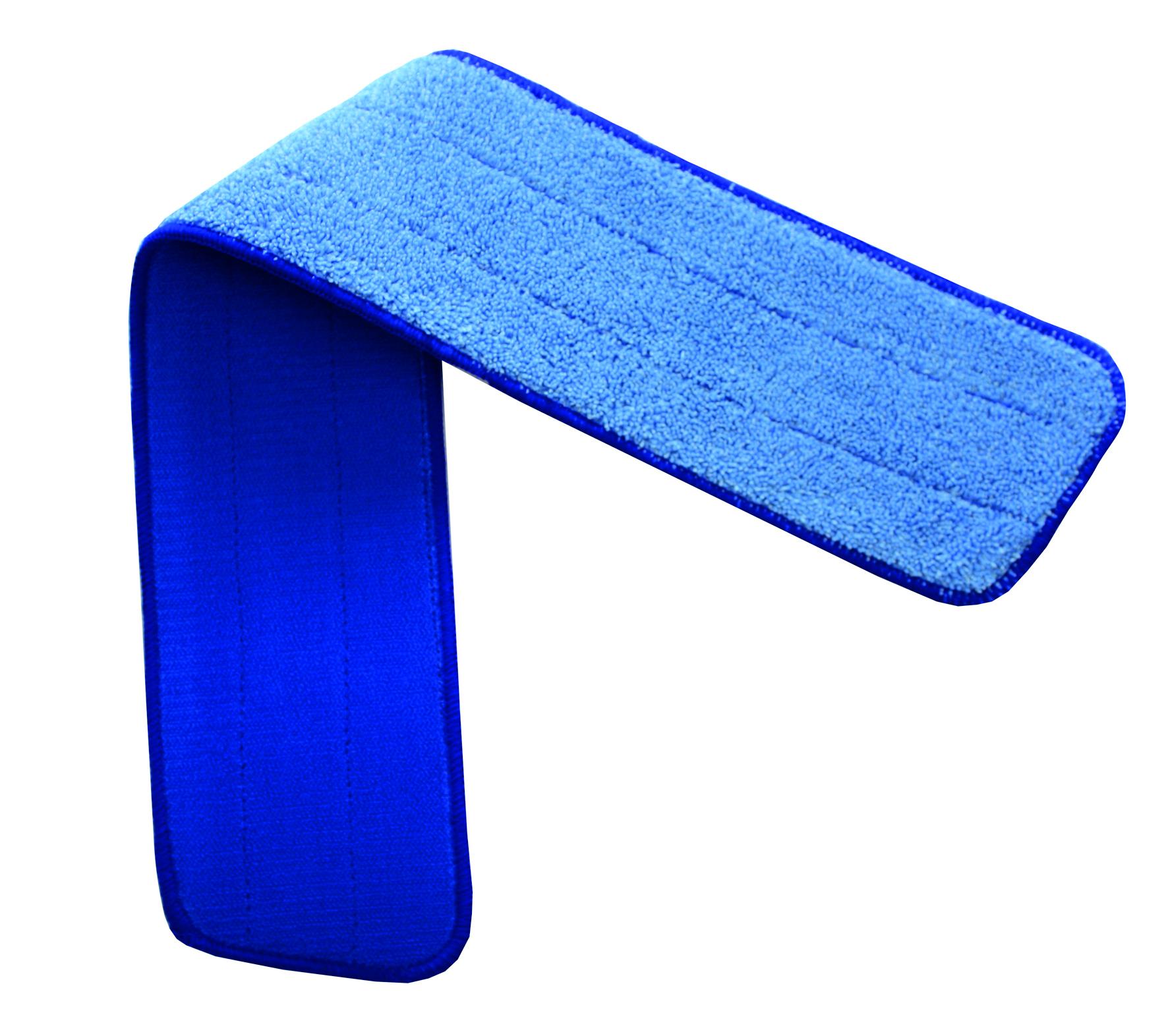 HT Mopp 40cm, krõpsuga, mikrokiud, sinine, sile