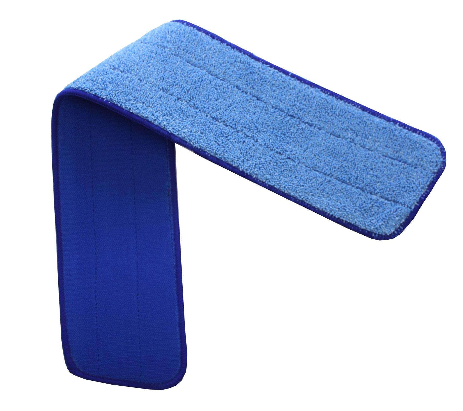 HT Mopp 60cm, krõpsuga, mikrokiud, sile, sinine, värvikoodid