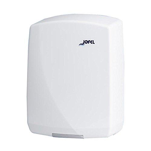Jofel Futura elektriline kätekuivati sensoriga, valge, 2000W, 32x23x15 cm