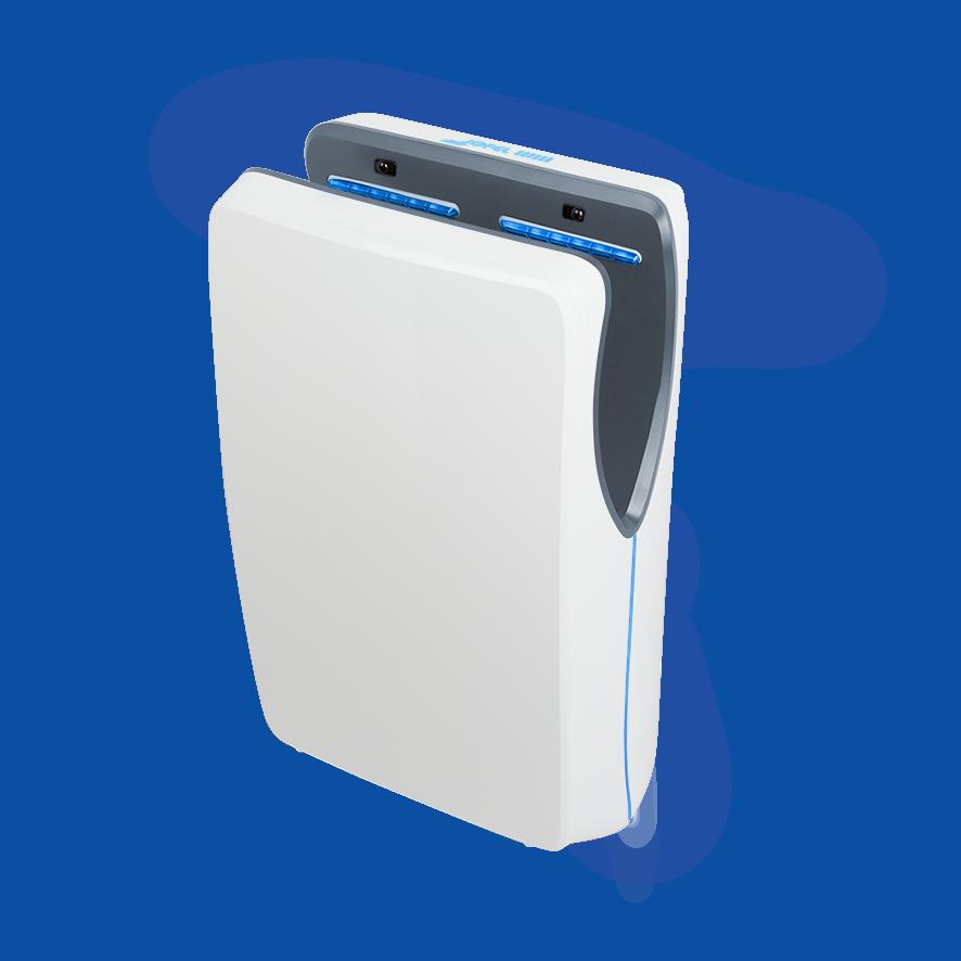 Jofel Tifon High Speed elektriline kätekuivati sensoriga, valge, 1550W, 54x32x18cm