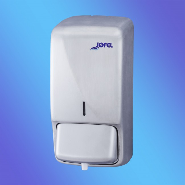 Jofel Futura dosaator, vahuseebile 800 ml, r/v teras, matt, 27x13x11,5 cm