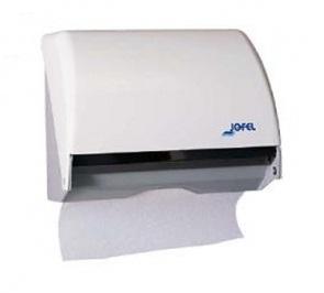 Jofel Azur Combi lehtkätepaberi või käterulli dosaator, Z, valge, 25x26x18 cm