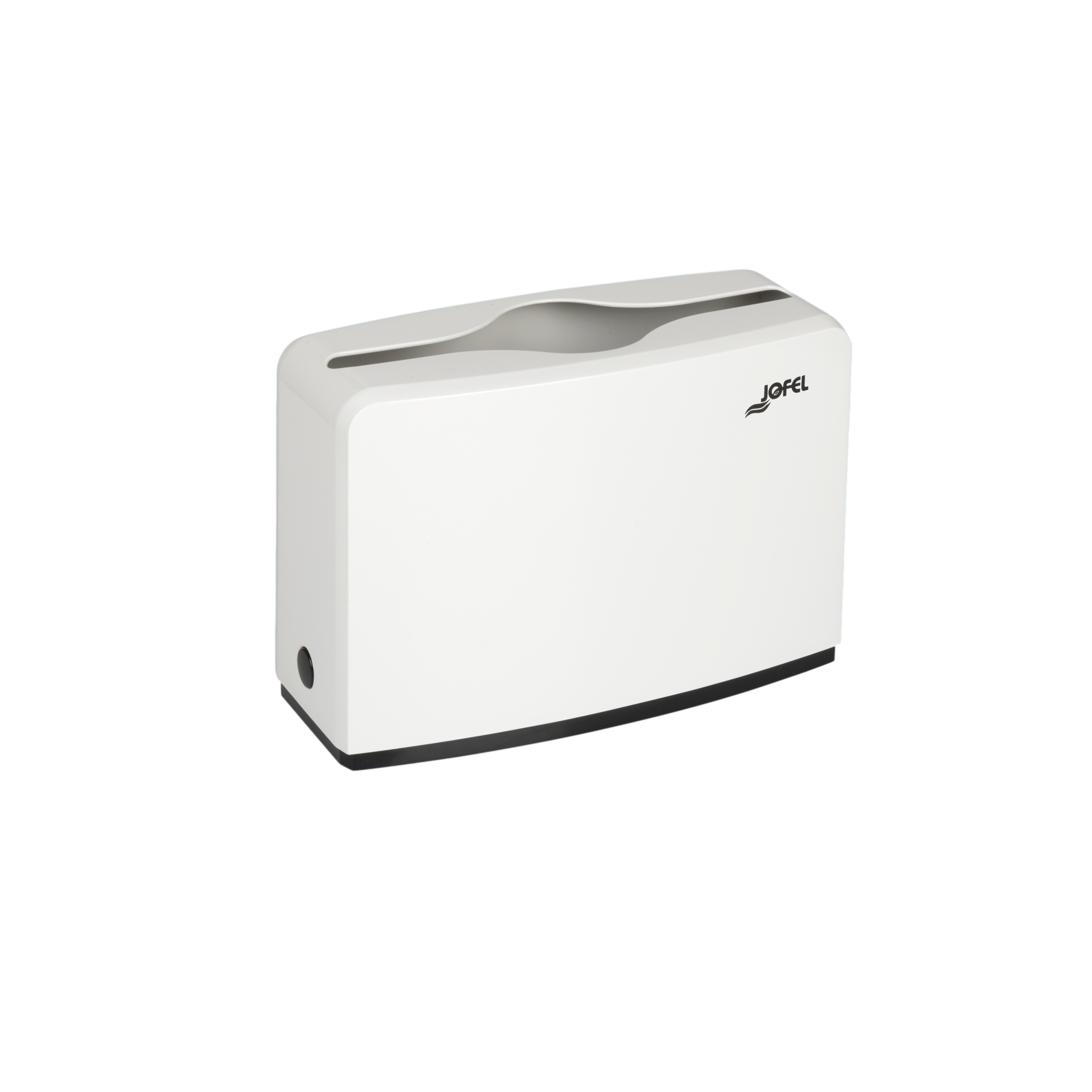 Jofel lehtkätepaberi dosaator, W ja Z, lauapealne, valge, 185x273x118 mm