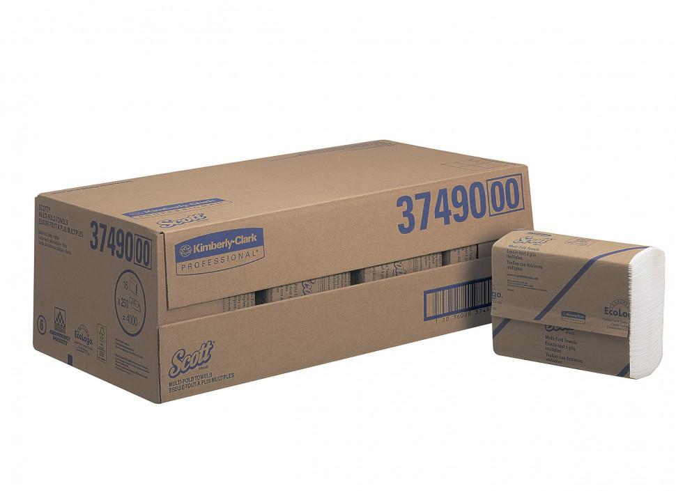 Kimberly-Clark® Lehtkätepaber Airflex, Z, kastis: 16pk x 250 lehte, = 2-kihiline, valge