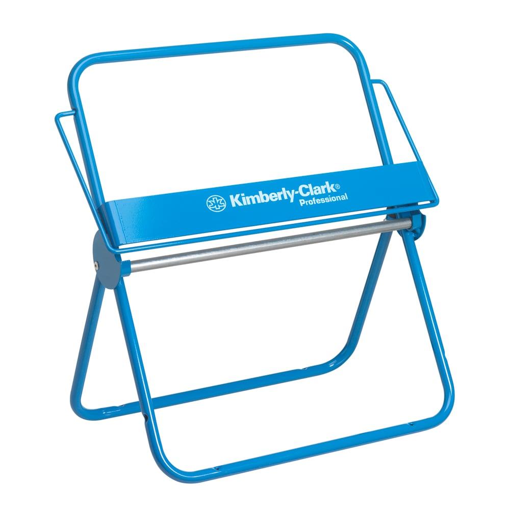 Tööstusliku rulli hoidja seinale ja lauale, sinine, 33x52x30 cm
