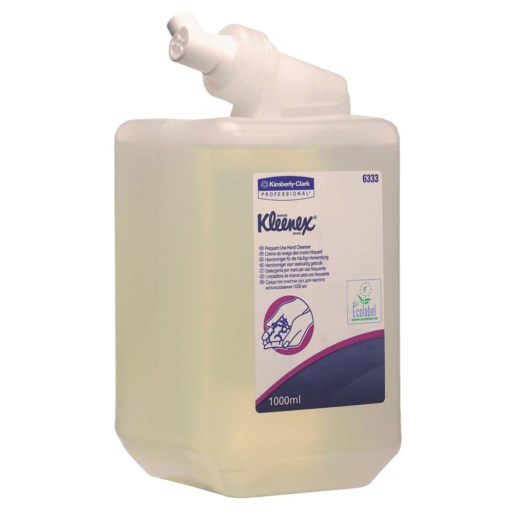 Kleenex vedelseep 1L, värvitu-lõhnatu, kastis 6tk