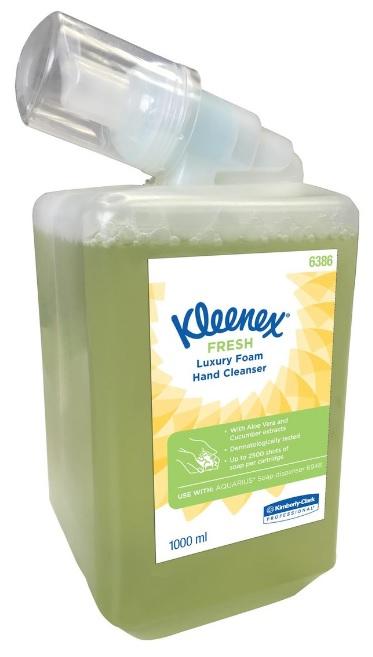Kleenex Fresh vahuseep, 1L, lõhnastatud, kastis 6tk