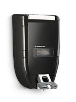 Tööstusliku vedelseebi dosaator, plastik, must, 47x28x25 cm