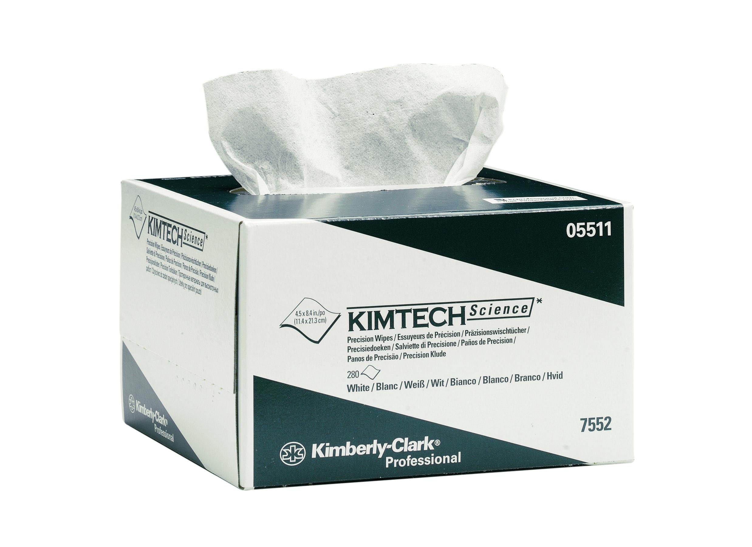 Kimberly-Clark® Kimtech Science, paber laborile, 11.5cm x 21.5cm, kastis: 30pk x 280tk, 1-kihiline, valge