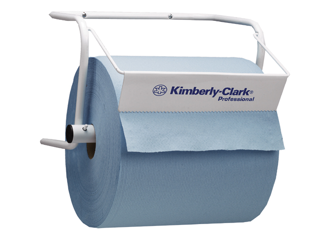 Kimberly-Clark® tööstusliku rulli hoidja seinale, valge, 28 x 27 x 39cm, LÕPUMÜÜK