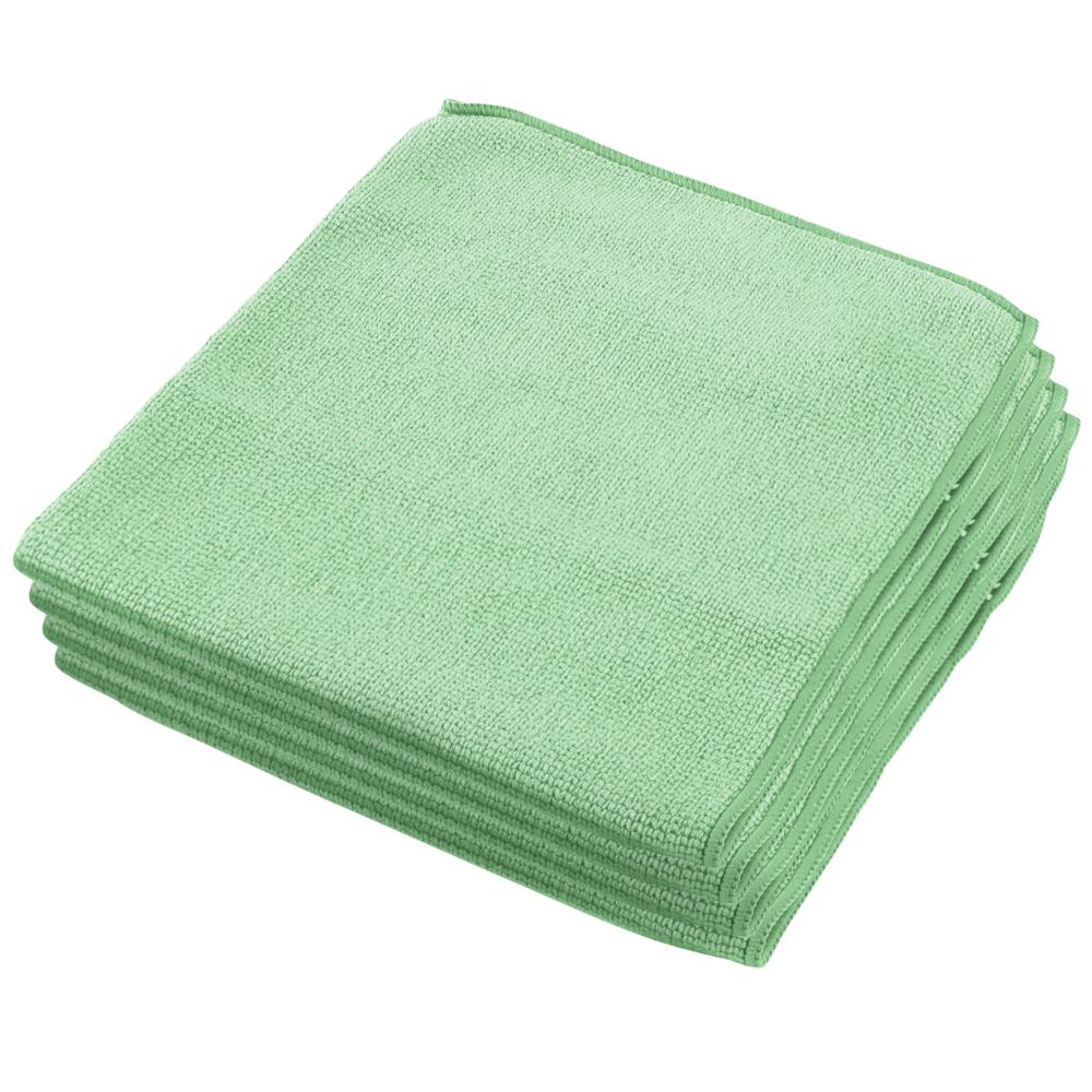 Kimberly-Clark®Mikrokiudlapp Wypall klaasile, roheline, 40 x 40cm, pakis 6 tk