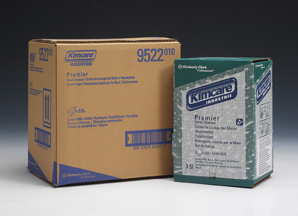 Kimcare Premier, tööstuslik vedelseep, 3,5 L, abrasiivosakestega, kastis 2tk