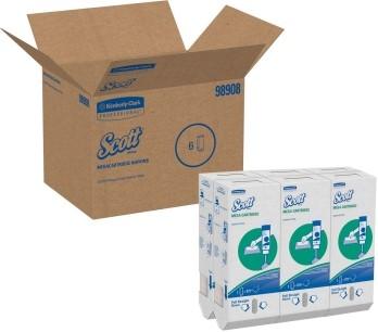 Kimberly-Clark® Megacartridge salvrätikud, kastis 6 pakki x 875 lehte, LÕPUMÜÜK
