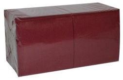 Salvrätikud 24 x 24 bordoo, 1-kihiline, pakis 400 tk, kastis 18 pk