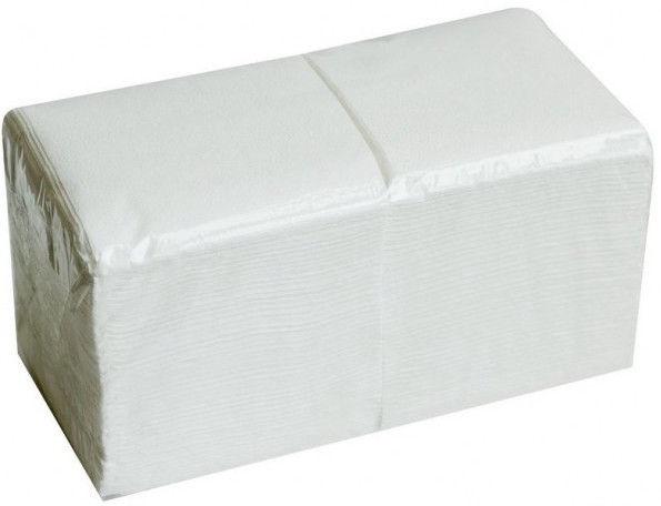 Salvrätikud 24 x 24 valge, 1-kihiline, pakis 400 tk, kastis 18 pk