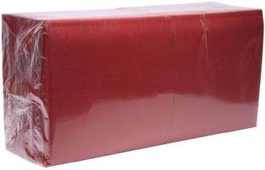 Salvrätikud 33 x 33 punane, 2-kihiline, pakis 250 tk, kastis 8 pk