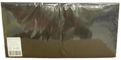 Salvrätikud 33 x 33 must, 1-kihiline, pakis 400 tk, kastis 6 pk