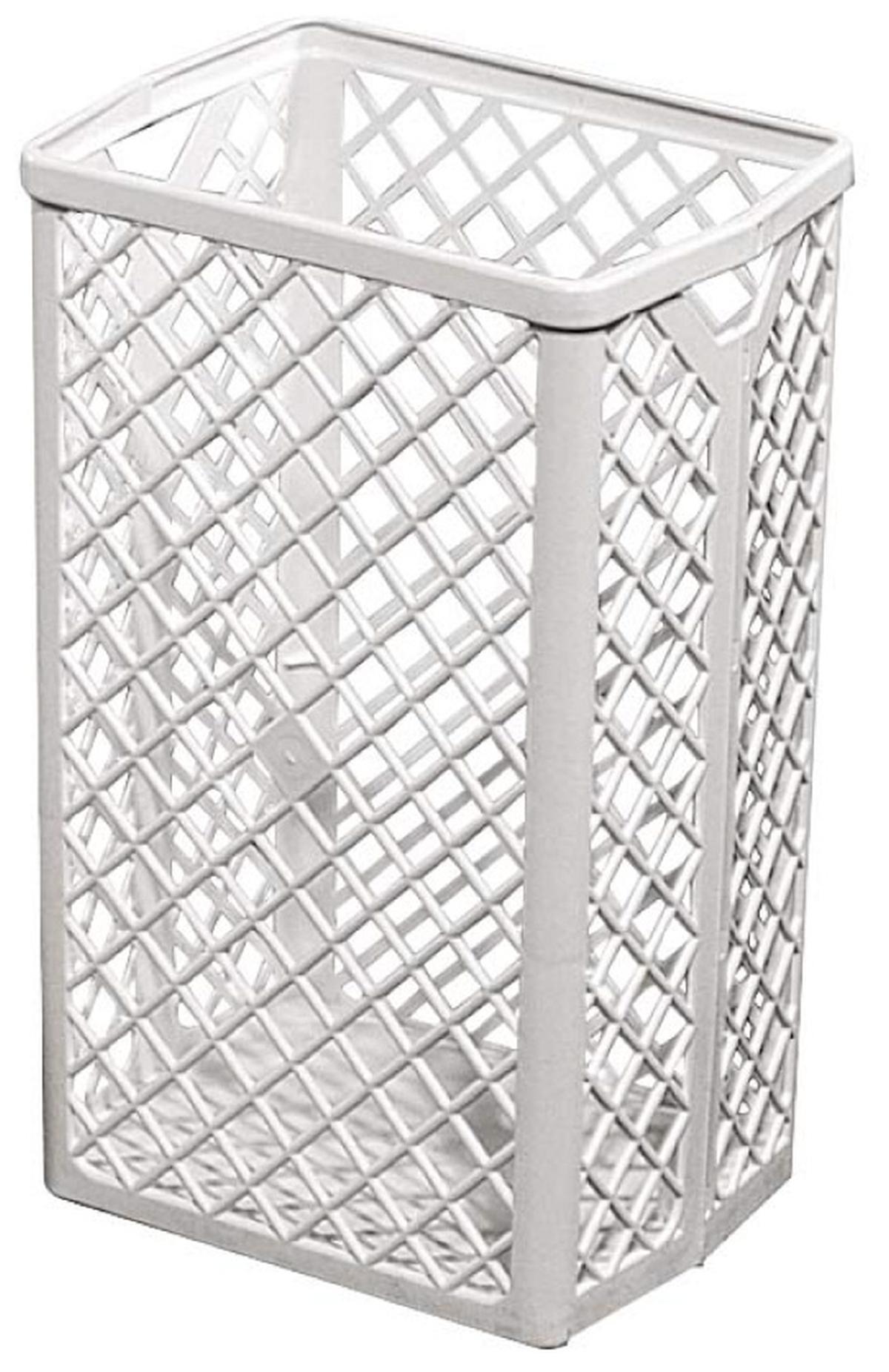 Marplast Prügikorv 35L, plastikvõrk, seinale, kastis 6tk