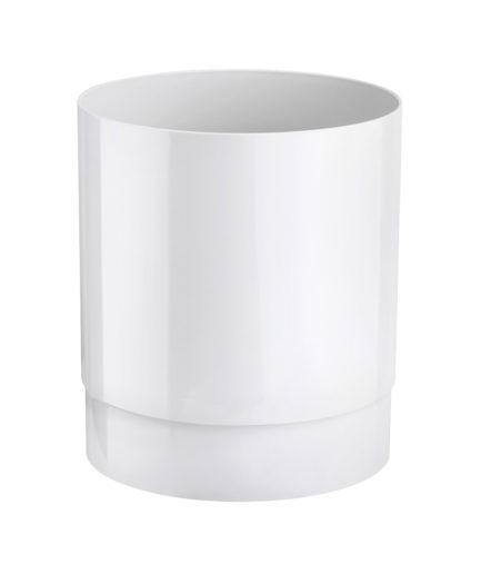 Marplast Soft Touch prügikast 13L, valge, kastis 8tk