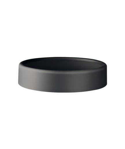 Marplast Soft Touch kaas prügikastile 13L, must, kastis 8tk
