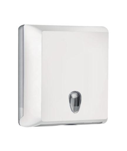 Marplast Soft touch lehtkätepaberi dosaator, valge, Z