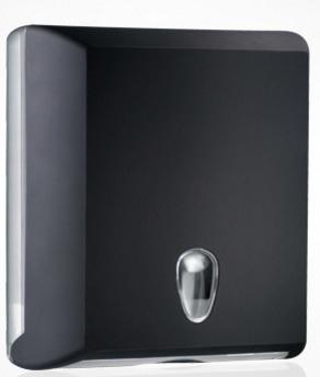 Marplast Soft touch llehtkätepaberi dosaator, must, Z