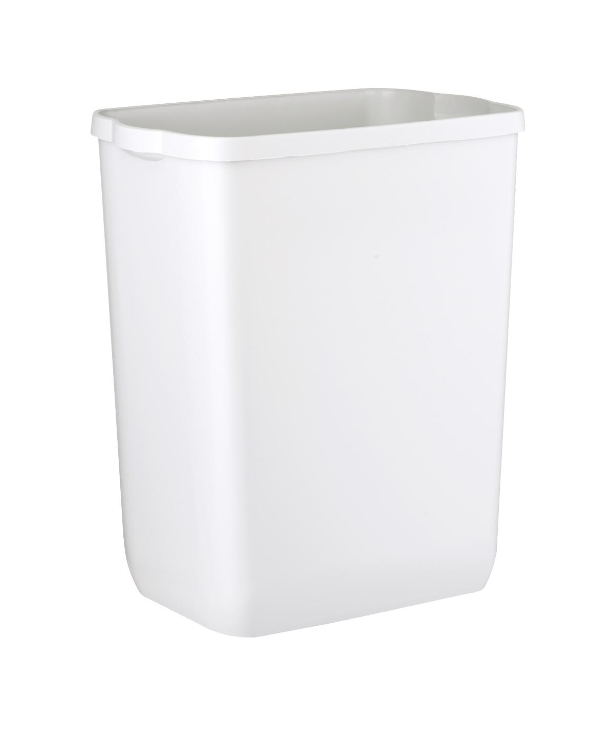 Marplast Soft touch prügikast 43L, seinale kinn.,valge, kastis 6tk