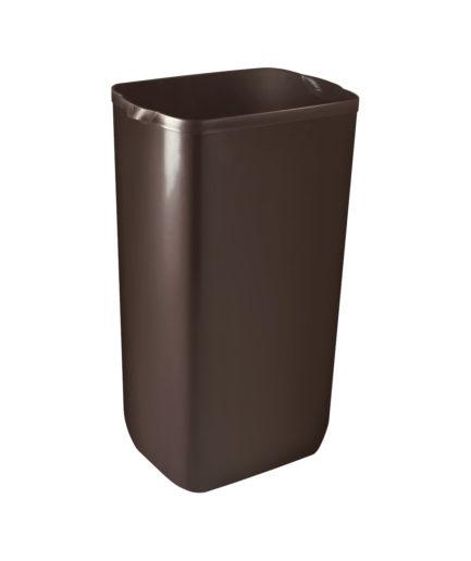 Marplast Soft touch prügikast 23L, seinale kinn.,pruun, kastis 6tk