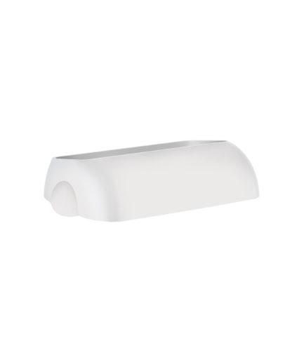Marplast kaas prügikastile 23L, valge, kastis 6tk