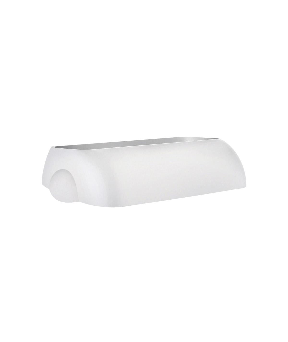 Marplast Soft touch kaas prügikastile 43L, valge