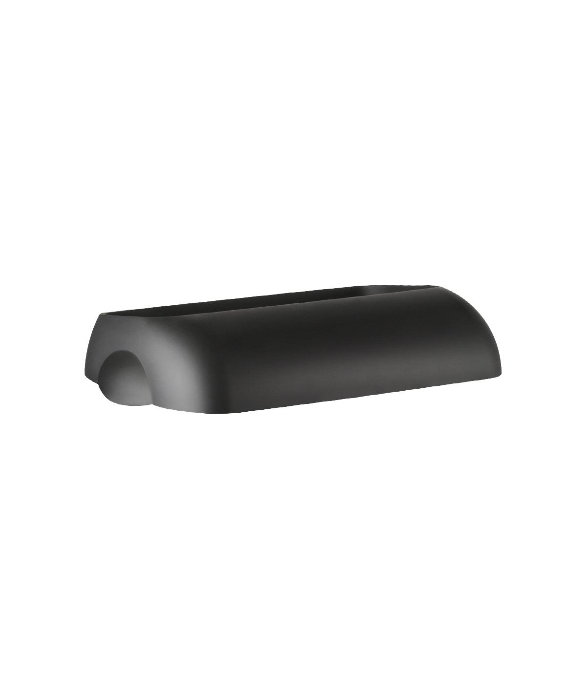 Marplast Soft touch kaas prügikastile 43L, must