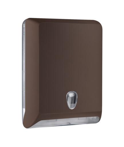 Marplast Soft touch lehtkätepaberi dosaator, pruun, Z,V, C