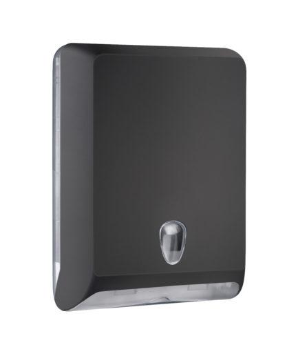 Marplast Soft touch lehtkätepaberi dosaator, must, Z,V