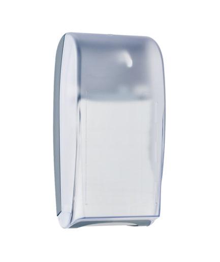 Marplast salvrätiku hoidik, lauale, seinale, 500 lehte, 42,8x14,8x22,5cm